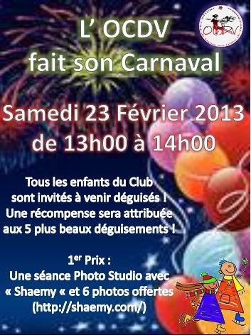 L'OCDV fait son carnaval 2013